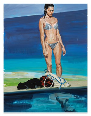 Self-Reflection by Eric Fischl contemporary artwork