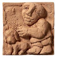 Relief 3 by Fadi Yazigi contemporary artwork sculpture