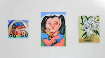Contemporary art exhibition, Aki Kondo, The Happiness that Exists Here at ShugoArts, Tokyo