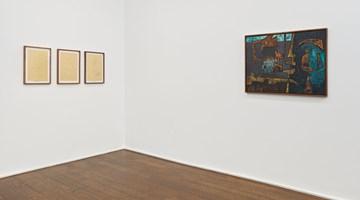 Contemporary art exhibition, Luchita Hurtado, Dark Years at Hauser & Wirth, 69th Street, New York