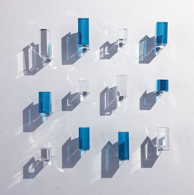 Blue & White by Bongchull Shin contemporary artwork
