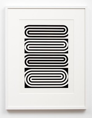 Untitled spirals by Gordon Walters contemporary artwork