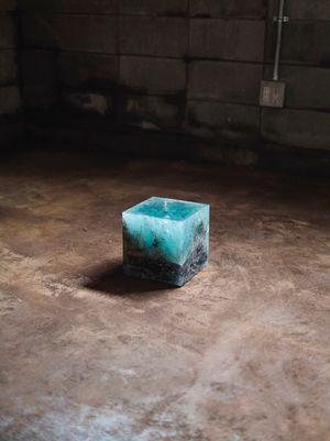 Trinity Cube by Trevor Paglen contemporary artwork