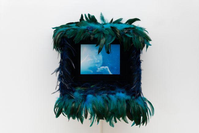 Elina et les paillettes by Marie Losier contemporary artwork