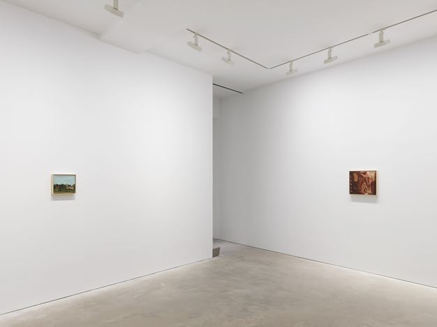 Exhibition view: Neo Rauch,Propaganda,David Zwirner, Hong Kong (26 March–4 May 2019). Courtesy the artist and David Zwirner.