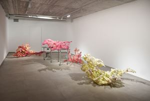 Caution, Contaminated Artifacts by Nadine Baldow contemporary artwork sculpture