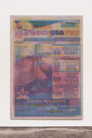 PS 10610 Eagle Rock 12/8/10–12/14/10 P1 C by Mungo Thomson contemporary artwork