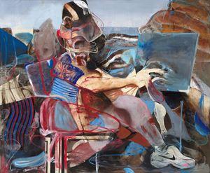 Self-Portrait 'en plein air' by Adrian Ghenie contemporary artwork