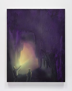 Cave Interior (Limelight) by Tala Madani contemporary artwork