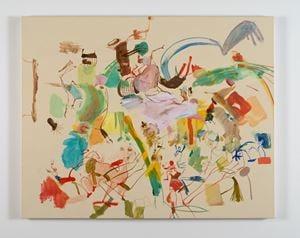 Pilgrim Hollidazzle by Sue Williams contemporary artwork
