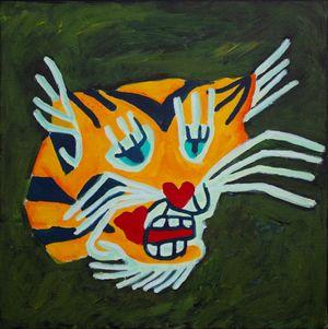 Tiger Force Member #5 by Farhad Farzaliyev contemporary artwork painting