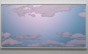 Unkai (Sea of clouds) February 27 2021 7:02 AM NYC by Miya Ando contemporary artwork
