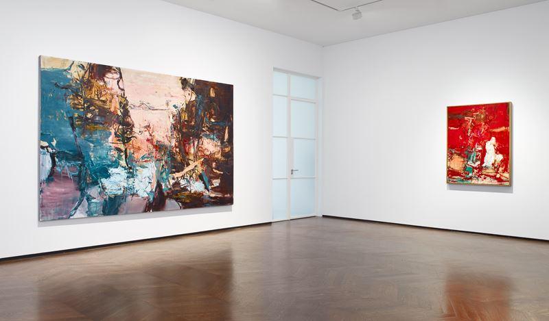 Exhibition view: Tu Hongtao,Twisting and Turning, Lévy Gorvy, 22 Old Bond Street, London (2 October–24 November 2020). © Tu Hongtao. Courtesy Lévy Gorvy. Photo: Stephen White & Co.