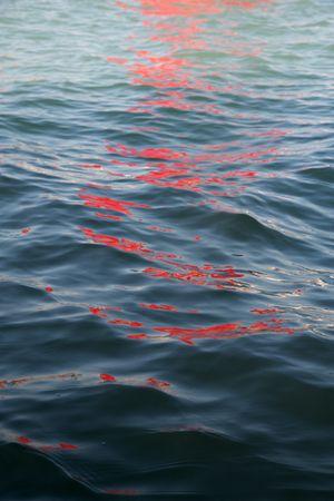 Riflessi (Red Regatta - 1 September 2019) - 4 by Melissa McGill contemporary artwork photography