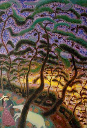 Happy Pine No. 1 by Guan Saimai contemporary artwork