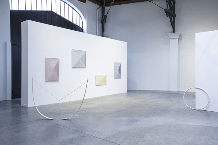 Exhibition view: Group Exhibition,Young Belgium, La Patinoire Royale – Galerie Valerie Bach, Brussels (13 December 2020–27 February 2021). CourtesyLa Patinoire Royale – Galerie Valerie Bach.