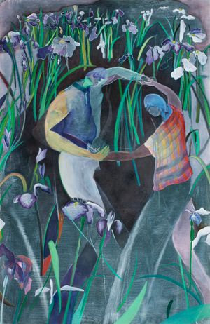 Dream of Irises by Hiroka Yamashita contemporary artwork