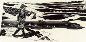 Fisherman by Chu Wei-Bor contemporary artwork
