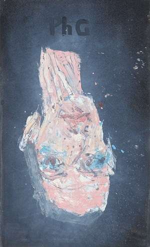 Philip Guston 1944 by Georg Baselitz contemporary artwork