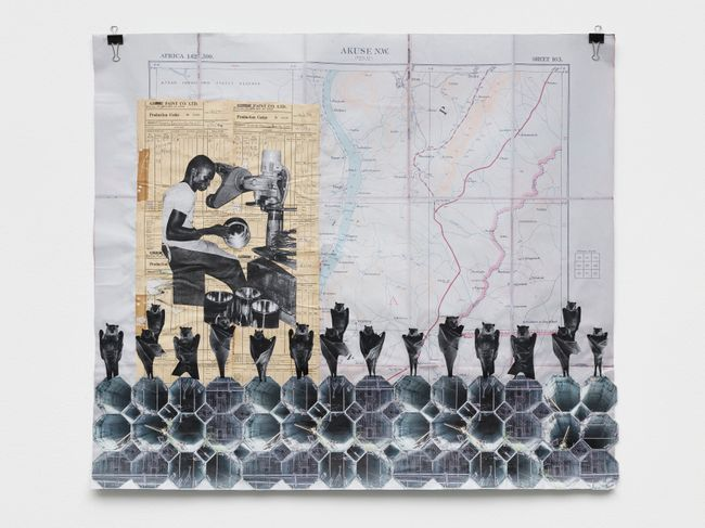 PARAD(W/M)E III by Ibrahim Mahama contemporary artwork