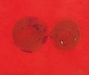 Feuergouache by Otto Piene contemporary artwork