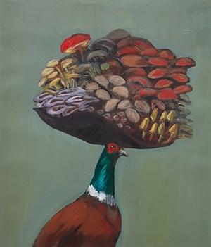 Study for Forager's Guild by Joanna Braithwaite contemporary artwork
