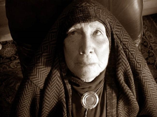 Eastern Mystic (Sepia Toned) by Margaret Dawson contemporary artwork
