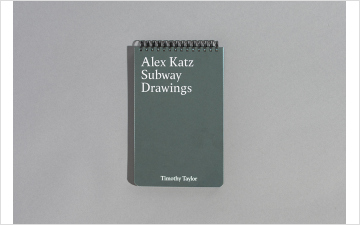 Alex Katz: Subway Drawings, 2017