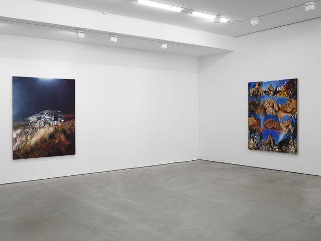 Exhibition view: Van Hanos, Conditional Bloom, West 24th Street, New York (30 June–13 August 2021). © Van Hanos. Courtesy Lisson Gallery.