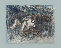 Laocoön by Qiu Xiaofei contemporary artwork works on paper