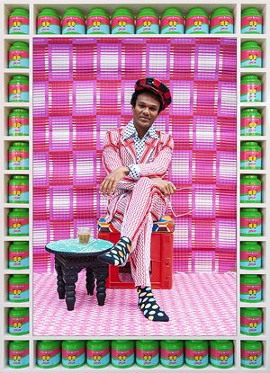 Che Lovelace by Hassan Hajjaj contemporary artwork