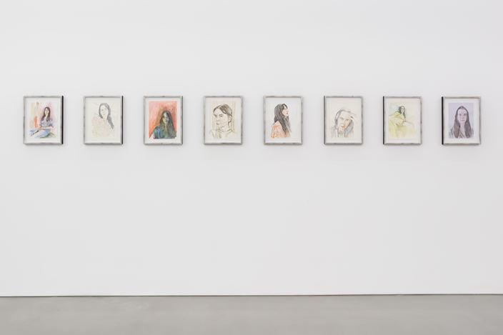 Exhibition view: Gillian Wearing, Lockdown, Maureen Paley, London(16 September–25 October 2020). Courtesy Maureen Paley.