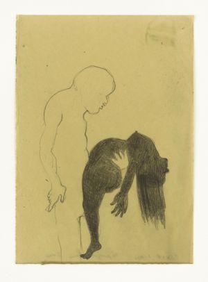 TANGO FINAL by Sandra Vásquez de la Horra contemporary artwork works on paper, drawing
