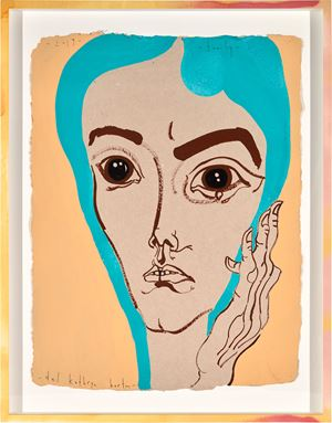 family by Del Kathryn Barton contemporary artwork
