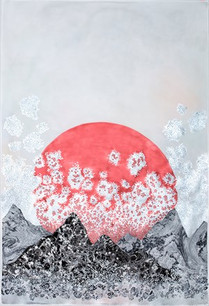 i always meant to love you, my heart dropped II by Crystal Liu contemporary artwork