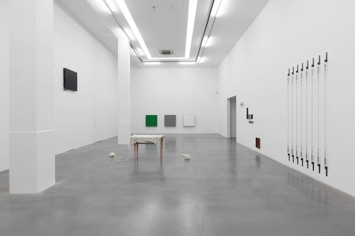 Exhibition view:Koshimizu Susumu, Haraguchi Noriyuki,PolyChord, Asia Art Center, Shanghai (30 May–26 July 2020). Courtesy Asia Art Center.