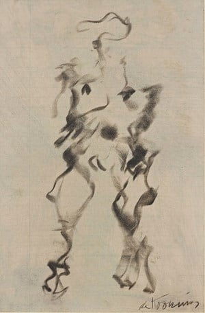 Woman by Willem de Kooning contemporary artwork