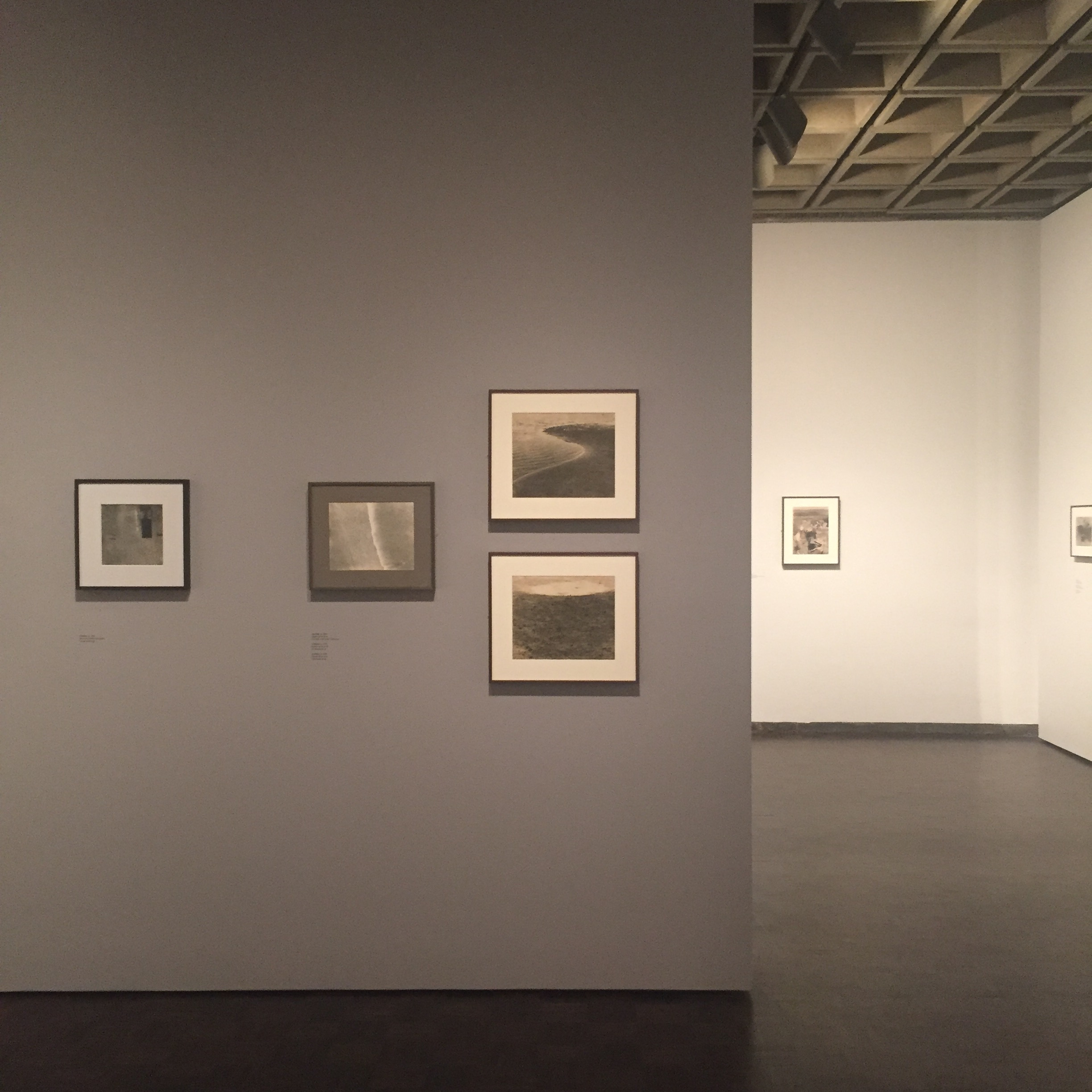 Exhibition view, Nasreen Mohamedi at The Met Breuer, New York. Photo: Anna Dickie.