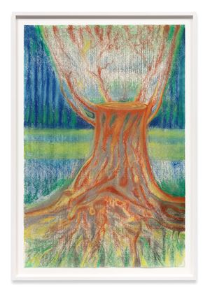 Untitled (Tree Trunk) by Richard Artschwager contemporary artwork