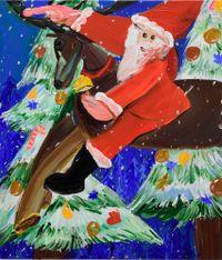 For Children around the World by Aki Kondo contemporary artwork painting