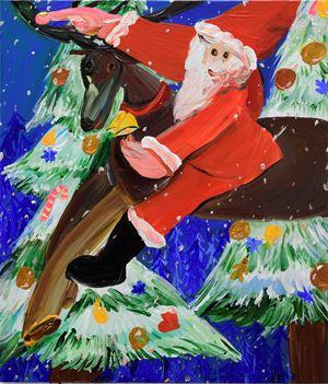 For Children around the World by Aki Kondo contemporary artwork