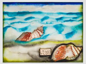 4-12-2020 by Francesco Clemente contemporary artwork