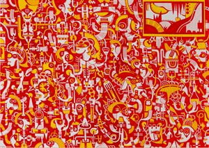 Alcheringa Ouverture: Day by Nisky Yu contemporary artwork