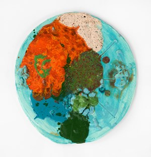 Hard Moon by Polly Apfelbaum contemporary artwork