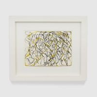 Butterfly Wings by Brice Marden contemporary artwork painting, works on paper, drawing