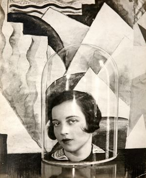 Lady Loughborough Under a Bell Jar by Cecil Beaton contemporary artwork