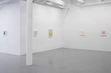 Exhibition view: Antonio Calderara, The Double, Lisson Gallery, 10th Avenue, New York (1 March–20 April 2019). Courtesy Lisson Gallery.