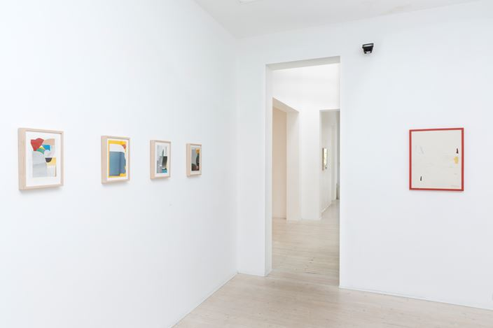Ed Bats, Lake Hayes, 2016. Exhibition view, Gallery 9, Sydney. Image courtesy the gallery.