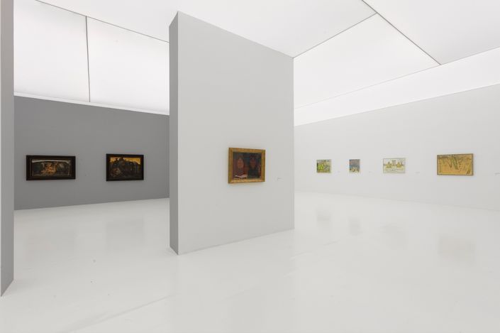 Exhibition view:Mao Xuhui, The History of Eternity: Forty Years of Mao Xuhui 1980-2021, Tang Contemporary Art, Beijing 1st & 2nd Space (10 July–26 August 2021). CourtesyTang Contemporary Art.