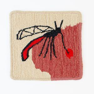 Mosquito rug by Claudia Kogachi contemporary artwork